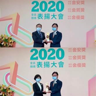 華南銀行獲聯徵中心「金質獎」及「金優獎」雙獎