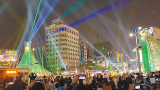 灯光秀大陆货 高市强调台湾创意