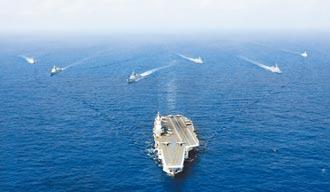 協同作戰 陸雙航母戰鬥群邁步