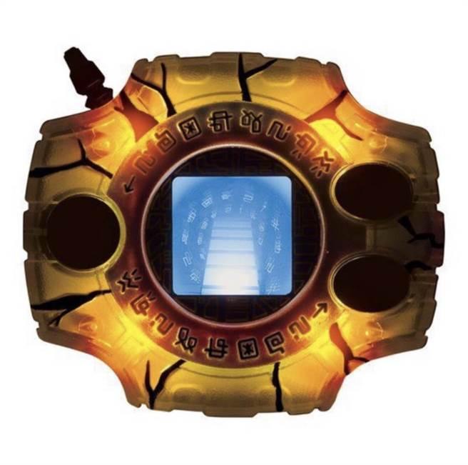 蝦皮購物的日版數碼寶貝神聖計劃聲光機CSA LAST EVOLUTION,約4000元。(蝦皮購物提供)