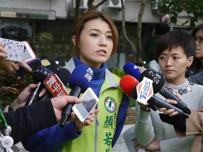 民進黨發言人顏若芳。(本報系資料照片)