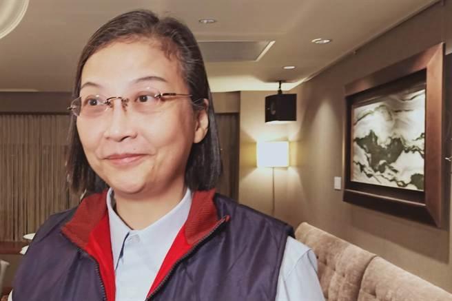 環球晶暨中美晶董事長徐秀蘭近12年完成4次重大併購。(任珮云攝)