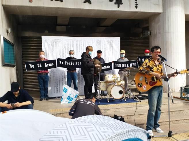 民团音乐反莱猪(张理国摄)