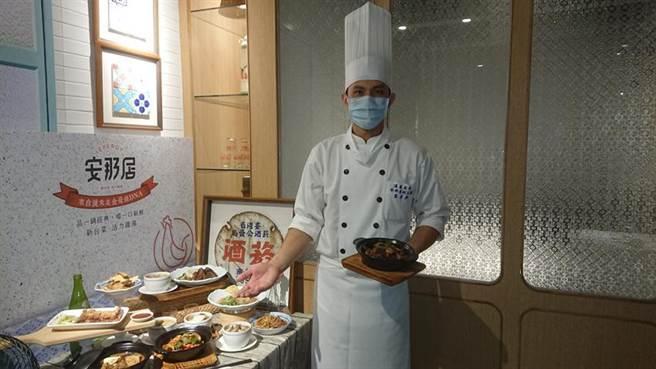 (漢來美食新台菜品牌在夢時代展店,成為第二家店。圖/林憲祥)