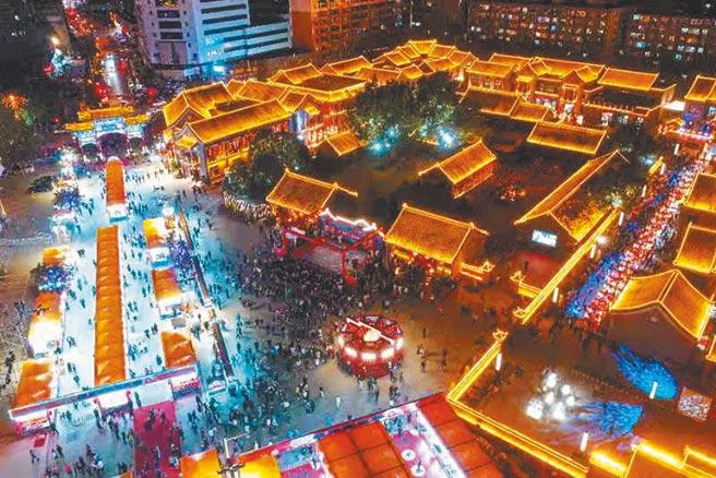 北市場文化商貿特色街區。