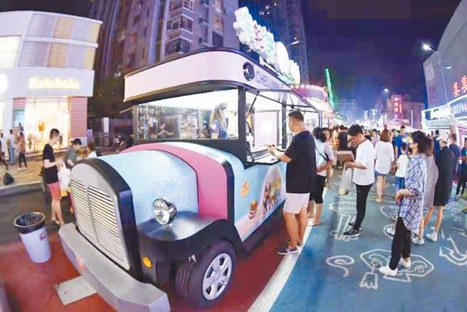 吉祥汽車主題商業步行街。
