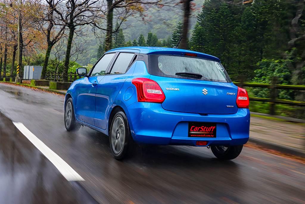 歐風小頑童換芯更節能,2021 Suzuki Swift Hybrid 1.2