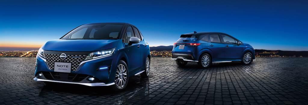 Nissan Note 將大舉擴展新車型,4WD 規格亮相後明年推出 3 字頭「AURA」高級版
