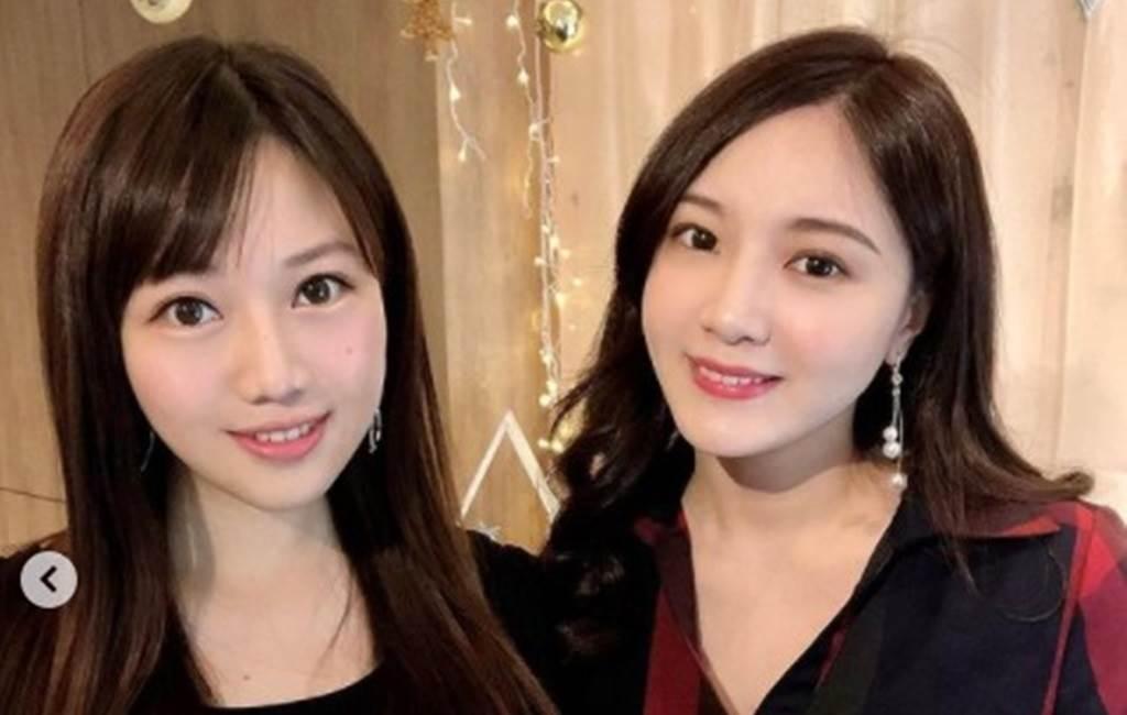 蔡尚樺(左)和虞承璇。(圖/IG@虞承璇)