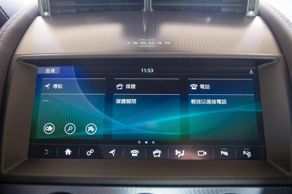 搭載全新10吋Incontrol Touch Pro系統,支援Apple CarPlay/Android Auto,結合12.3吋數位儀表,打造數位化座艙。