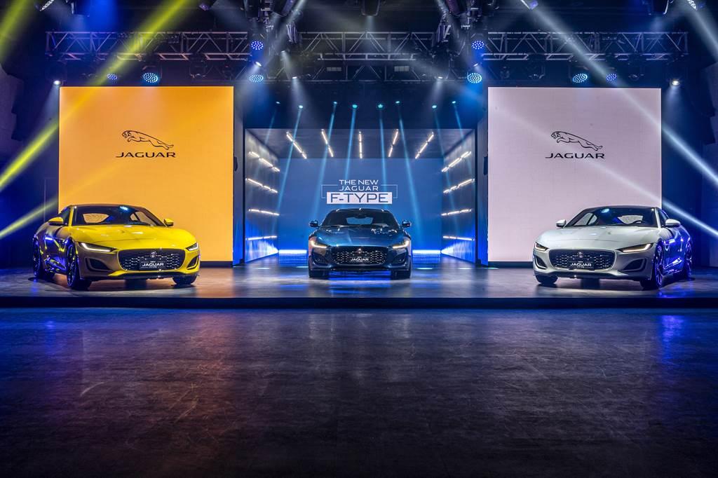 Jaguar F-TYPE正式在台發表,建議售價366萬元起,入主即享0負擔5年原廠保養專案。