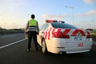 貨車國道上禮讓「紅斑馬」遭開單 網一看過程怒:你中警察的計了
