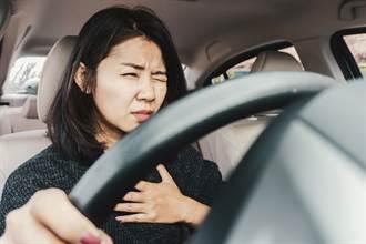 開車時突然心肌梗塞怎麼辦? 記住保命「2動作」