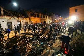 克羅埃西亞規模6.4強震 持續搜救已知7死