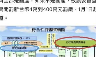 Lin Bay好油》用標章來應付 無法律效力也無為!