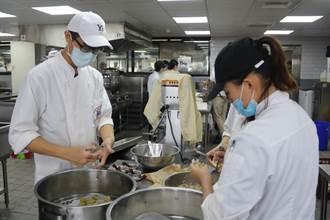 剩餘食材變美味佳餚 弘光餐旅系學子義煮義賣助弱勢