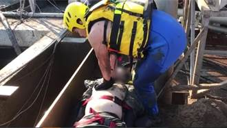 疑風勢過大重心不穩 畜牧場員工摔落4米汙水槽溺斃