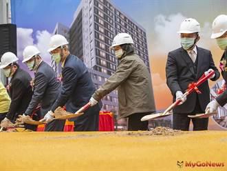 總統出席「警消社會住宅統包工程開工動土典禮」
