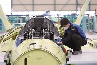 KAI發布韓國下一代戰機的組裝照片