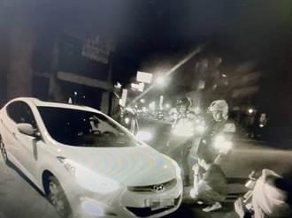 台南2警10分鐘內 連逮酒駕、毒品兩案
