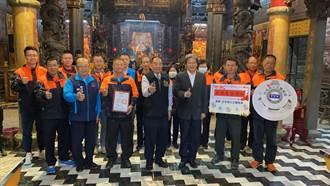 台西鄉安西府捐贈住警器 關心弱勢居家安全