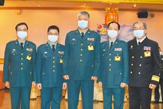 強化戰疫 軍醫局晉任5少將