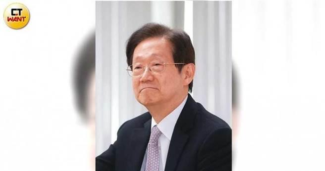 身兼台苯、東森電視董事長的林文淵,經營實績豐碩,卻在大同踢到鐵板。(圖/周志龍攝)