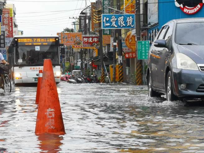 消息一出讓當地居民都相當雀躍表示,終於可以免於水患之苦。(本報資料照)