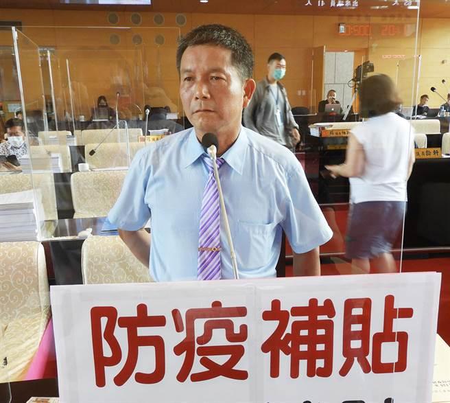 劉士州反批說,張議員很沒禮貌,如果他舉辦餐會邀請市長相信一樣會出席。(陳世宗攝)