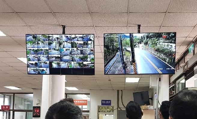 30日集集鎮公所完成鎮內監視系統的整合優化工程,讓鎮民治安更有保障。(集集鎮公所提供/黃立杰南投傳真)
