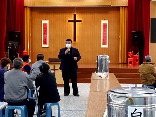 苗栗看守所日前舉辦基督教家庭日活動。(謝明俊攝)