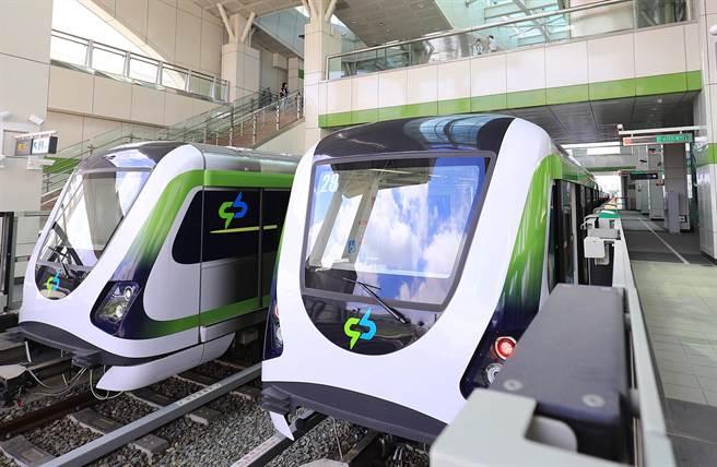 台中捷运绿线36根轴心将全部换新!台中市议会国、民两党议员要求检测鑑定再上路。(台中市政府提供/陈世宗台中传真)