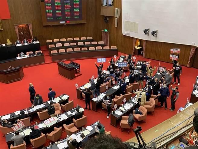 立法院會24日表決攸關萊豬行政命令及相關修法草案。(資料照,林縉明攝)