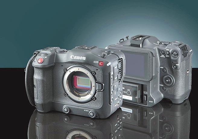 Canon 4K电影级数位摄影机EOS C70,16万9000元。(Canon提供)