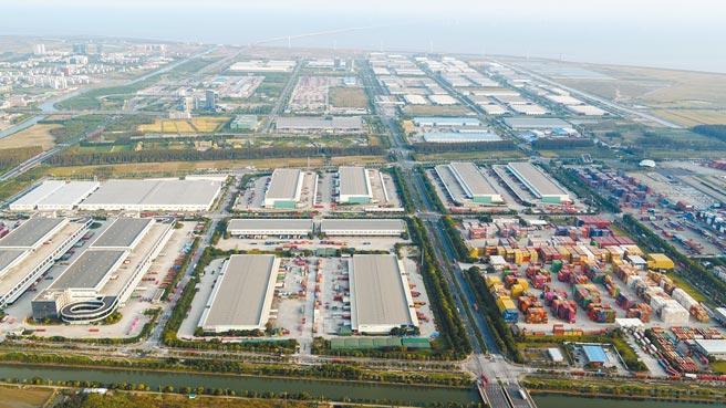 國企混改基金落地上海自貿區臨港新片區。圖為臨港新片區一角。(新華社資料照片)