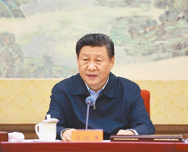 12月25日,中共总书记习近平主持民主生活会。(新华社)