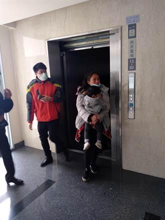 新竹馬偕院長交接 電梯突停、賓客驚嚇受困