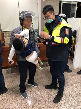 4歲男童外出走失 永和警陪伴助返家