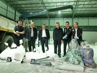 巴基斯坦2貨櫃「鹽岩」運台 警攔截185公斤K毒