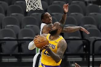 NBA》連續1000場得分上雙 詹姆斯史上第一人
