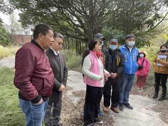 地方爭國有地閒置綠美化 楊瓊瓔協調成功