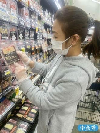 李彥秀隔海PO美豬照打臉行政院及綠委:在美國可選擇不吃萊豬