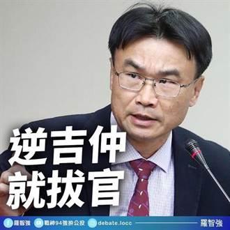 羅智強嗆陳吉仲:明知農委會台灣豬標章騙人 還要繼續騙