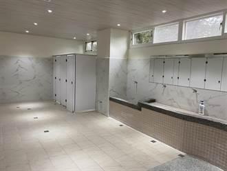 大成國中校慶 廁所也變美了