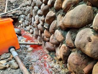 酸洗廢水排橫窠溪 金屬表面處理廠遭停工開罰