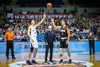 高中籃球甲級聯賽激戰 陳其邁開球