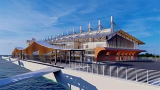 金門水頭港旅服中心將復工 2024年1月完工啟用