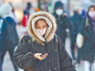 连6天超长寒潮袭台 急冻范围扩大 21县市发布低温特报