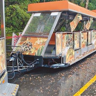遊園車撞樹 動物園加強駕訓管理