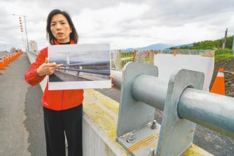 鋼板護欄尖銳 宜蘭橋遭爆藏危機